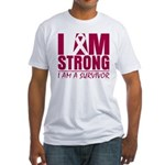 I am Strong Multiple Myeloma Fitted T-Shirt