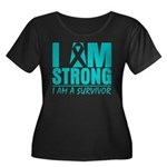 I am Strong Ovarian Cancer Women's Plus Size Scoop