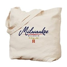 Milwaukee Script Tote Bag