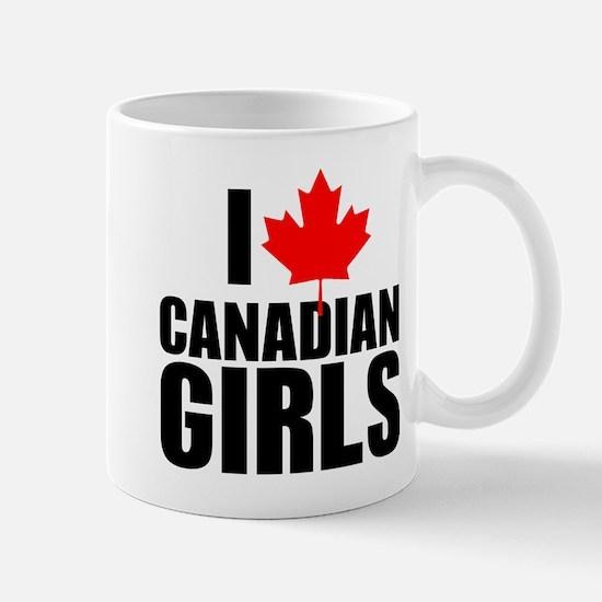 i heart canadian girls Mug