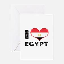 i heart egypt Greeting Card