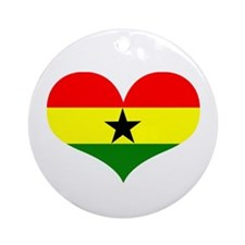 ghana designs Ornament (Round)