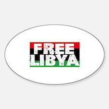 free libya block Decal