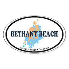 Bethany Beach DE - Seashells Design Decal