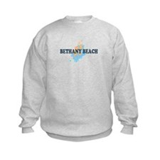 Bethany Beach DE - Seashells Design Sweatshirt
