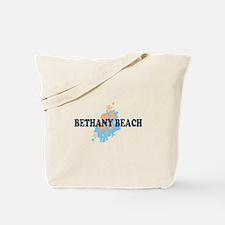 Bethany Beach DE - Seashells Design Tote Bag