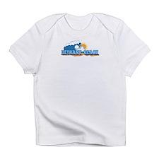 Bethany Beach DE - Waves Design Infant T-Shirt