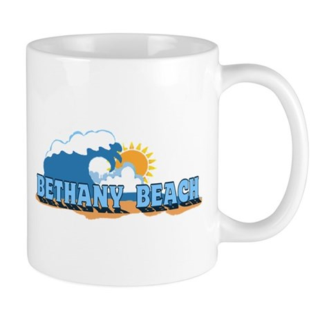 Bethany Beach DE - Waves Design Mug