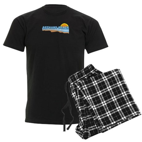 Bethany Beach DE - Beach Design. Men's Dark Pajama