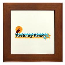 Bethany Beach DE - Beach Design Framed Tile