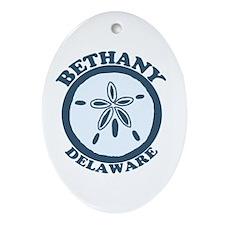 Bethany Beach DE - Sand Dollar Design Ornament (Ov