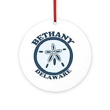 Bethany Beach DE - Sand Dollar Design Ornament (Ro