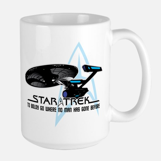 Star Trek: To Boldly Go Large Mug