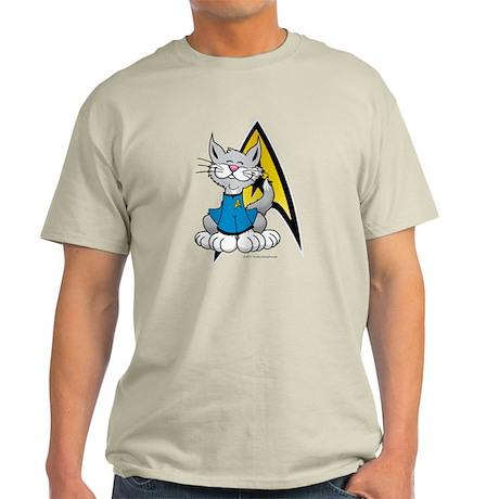 Star Trek Spock Cat Light T-Shirt