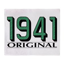 1941 Original Throw Blanket