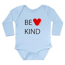 BE KIND Long Sleeve Infant Bodysuit