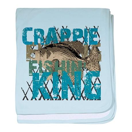 Crappie Fishin' King baby blanket