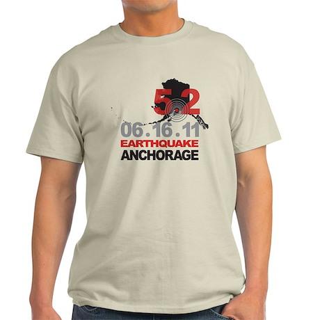 Alaska Earthquake 2011 Light T-Shirt