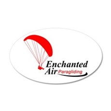 Enchanted Air 22x14 Oval Wall Peel