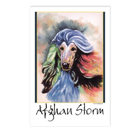 Afghan Storm Postcards (Package of 8)