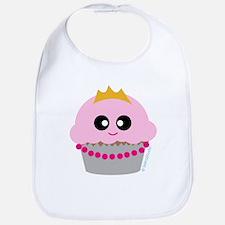 """Cupcake Princess"" Bib"