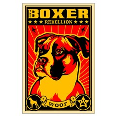 BOXER Rebellion Large Propaganda Poster