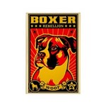 BOXER Rebellion! Propaganda Dog Magnet