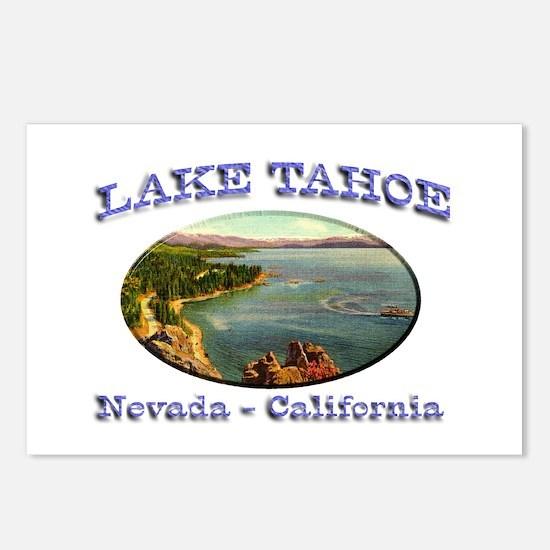 Lake Tahoe Postcards (Package of 8)