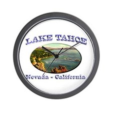 Lake Tahoe Wall Clock