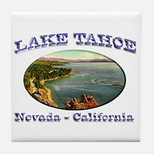 Lake Tahoe Tile Coaster