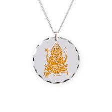 Jai Ganesh (Orange) Necklace