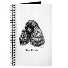 Black Toy Poodle Journal