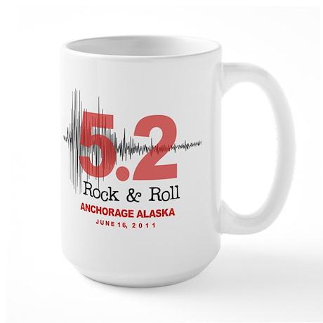 Alaska Earthquake 2011 Large Mug