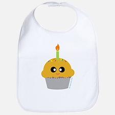 """Birthday Cupcake"" Bib"