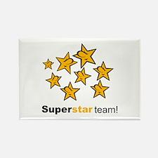 SuperStar Team Rectangle Magnet