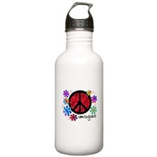 Retro Vintage 70's Sports Water Bottle