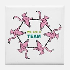 We Are Team Tile Coaster