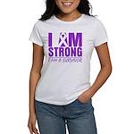 I am Strong Pancreatic Cancer Women's T-Shirt