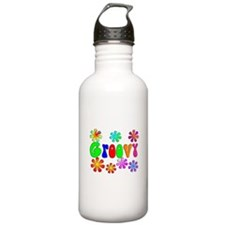 Retro Vintage 70's Water Bottle