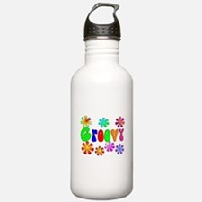 Retro Vintage 70's Water Bottle