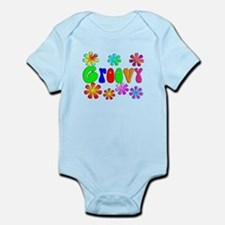 Retro Vintage 70's Infant Bodysuit