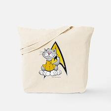 Star Trek Kirk Cat Tote Bag