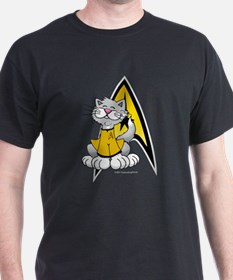 Star Trek Kirk Cat T-Shirt