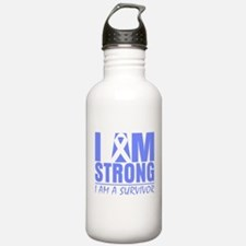 I am Strong Esophageal Cancer Water Bottle