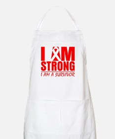 I am Strong Heart Disease Apron