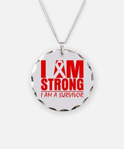 I am Strong Heart Disease Necklace