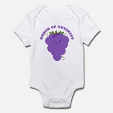 Cute Kawaii Grapes Onesie