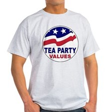 Tea Party Values T-Shirt