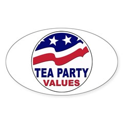 Tea Party Values Decal