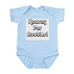 Hooray for Boobies! Infant Creeper